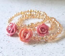 Spring Rose Bracelet